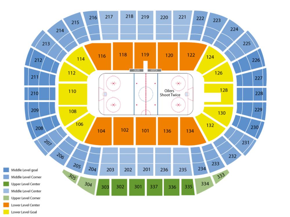 World Mens Curling Championship - Draw 1 Venue Map