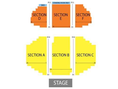 Riverdome At Horseshoe Casino Seating Chart