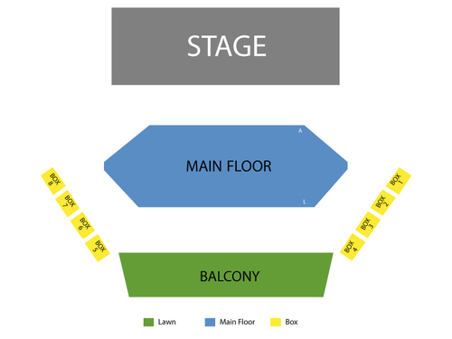 Royal George Theatre Seating Chart