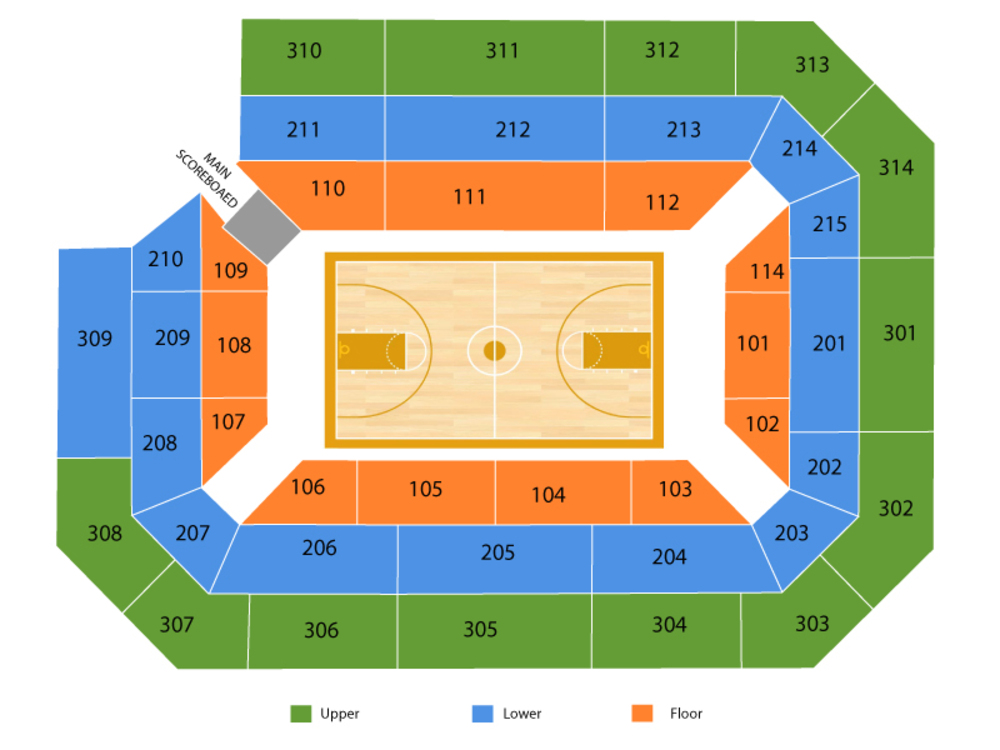 Exhibition: Pace University Setters at Rhode Island Rams Basketball Venue Map