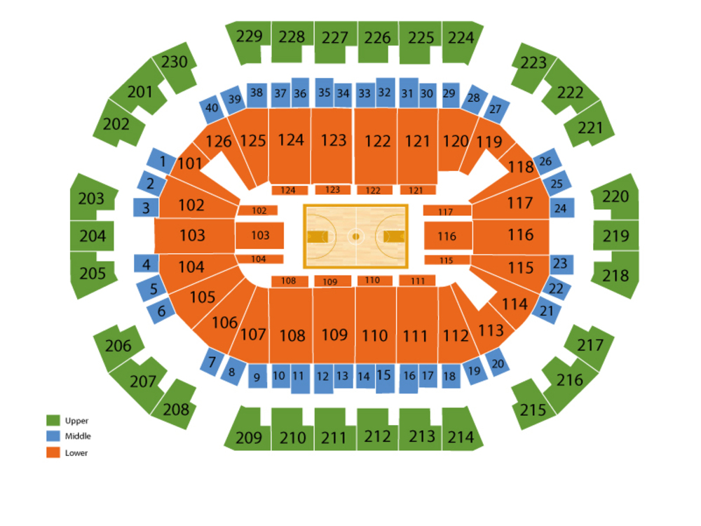 Save Mart Center seating map and tickets