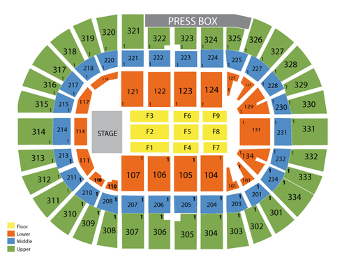 Value City Arena (Schottenstein Center) Seating Chart
