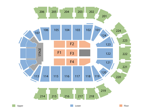 Spokane Arena Seating Chart