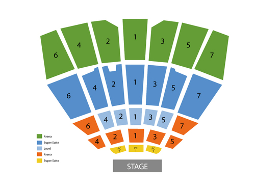 Starlight Theatre Seating Chart