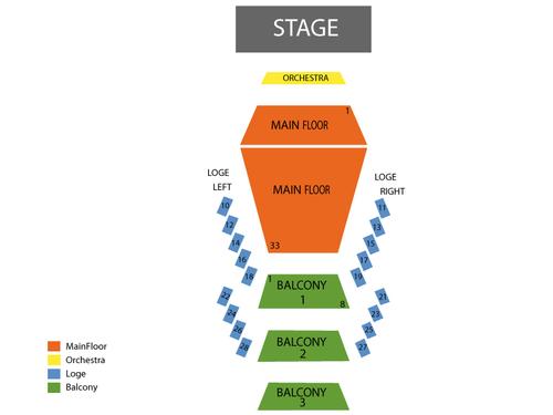 Stephens Auditorium Seating Chart