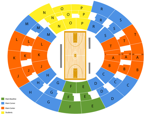 Tad Smith Coliseum Seating Chart