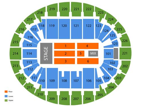 Verizon Wireless Arena-NH Seating Chart