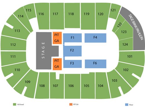 Tsongas Center Seating Chart