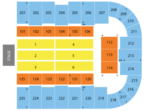 Tucson Arena Seating Chart