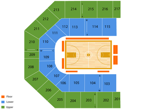 Uic Pavilion Seating Chart Amp Events In Chicago Il