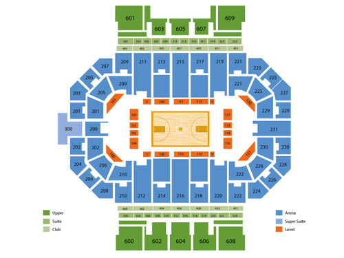 Allen County Memorial Coliseum Seating Chart