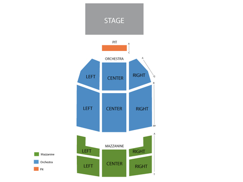 Fillmore Miami Beach at Jackie Gleason Theater Seating Chart