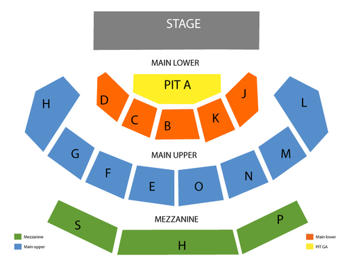 Capitol Theatre - OH Seating Chart
