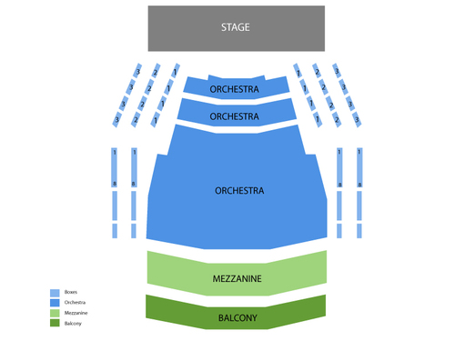 Centre in the Square (Kitchener) Seating Chart