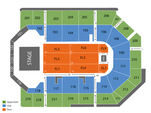 Zapp with Brenton Wood (Rescheduled from 3/21/2020 and 12/18/2020) Venue Map