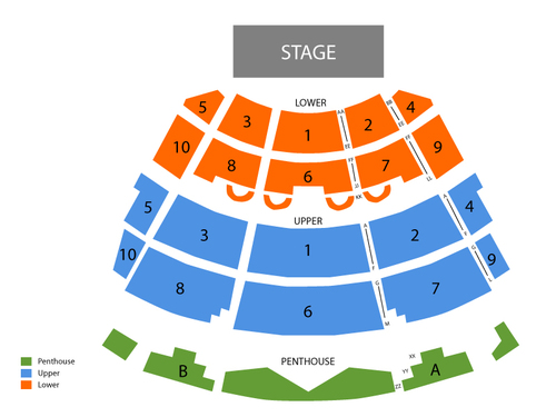 Harrahs Atlantic City Seating Chart