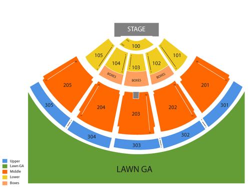 Ak-Chin Pavilion Seating Chart