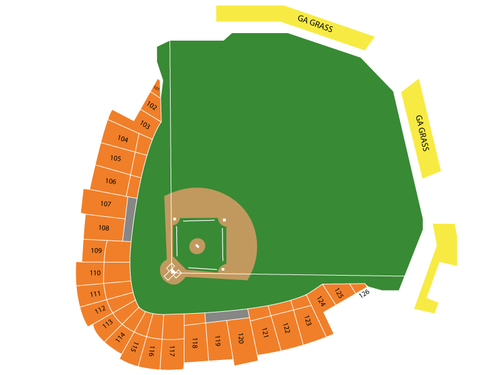 Dr. Pepper Ballpark Seating Chart