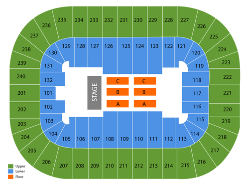 Greensboro Coliseum Seating Chart
