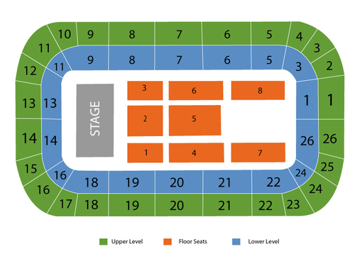 Hershey Centre Seating Chart