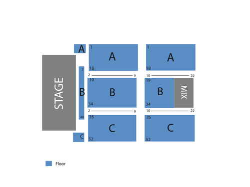 Snoqualmie Casino Seating Chart
