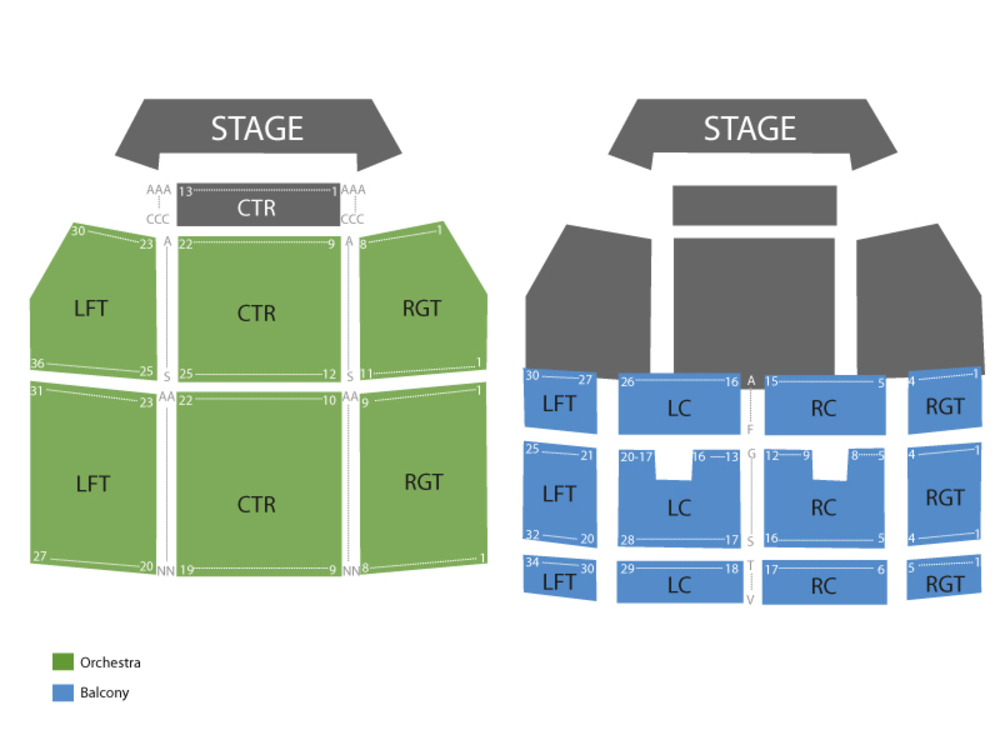 Cole Swindell Venue Map