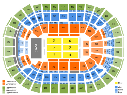 Jay-Z Venue Map