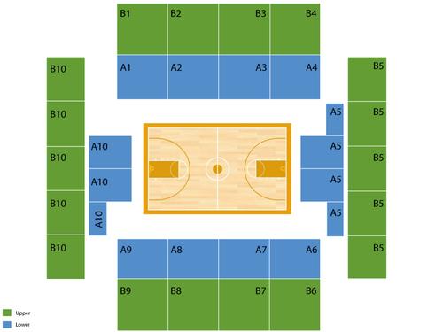 A.J Palumbo Center Seating Chart