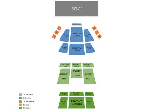 Fletcher Hall Seating Chart