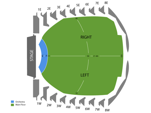 Des Moines Civic Center Seating Chart