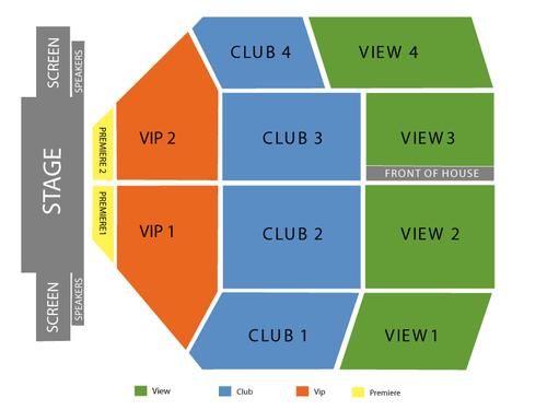 Emerald Queen Casino Seating Chart