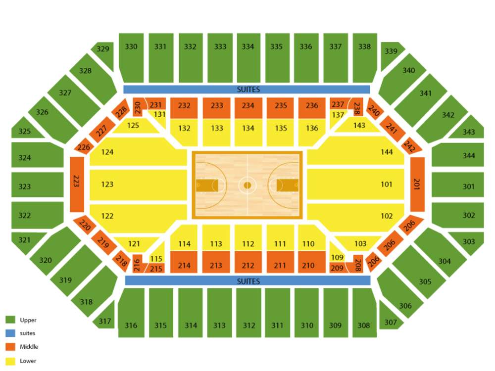 Freedom hall louisville seating chart and tickets