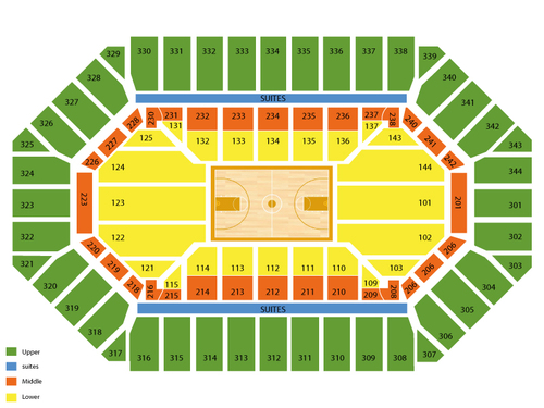 Freedom Hall (Louisville) Seating Chart