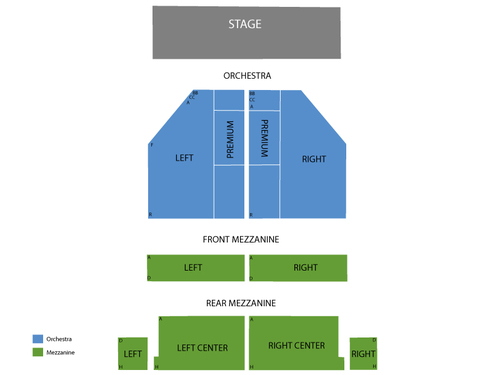 John Golden Theatre Seating Chart