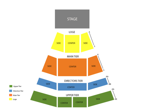 Irvine Bowl Seating Chart