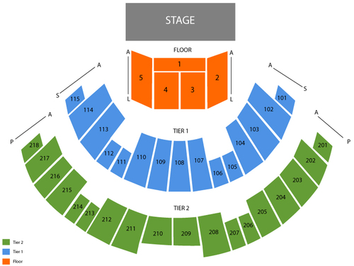 James L. Knight Center Seating Chart