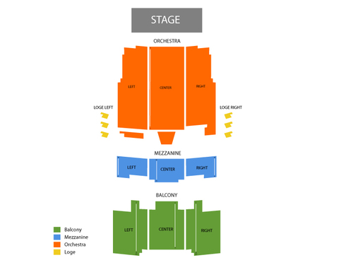 Barbara B Mann Hall Seating Chart Events In Fort Myers Fl