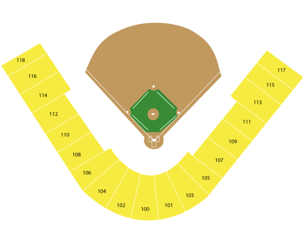 Spring Training: Los Angeles Angels at Milwaukee Brewers Venue Map