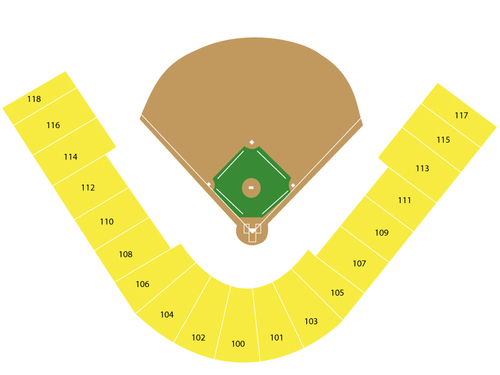 Spring Training: Seattle Mariners at Milwaukee Brewers Venue Map