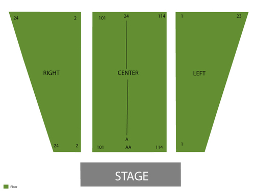 Meadow Brook Theatre Seating Chart