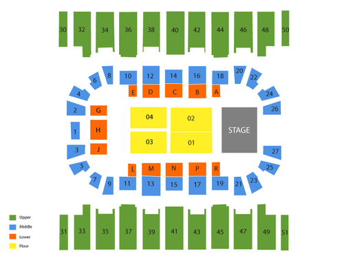MetraPark Rimrock Auto Arena (Billings) Seating Chart