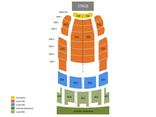 Midland Theatre Seating Chart