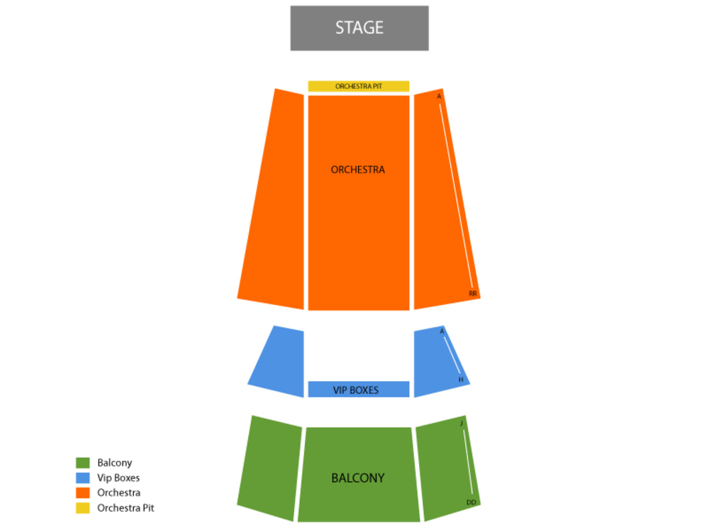 Mommas Boy Venue Map
