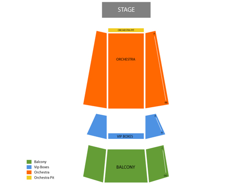 Murat Theatre Seating Chart