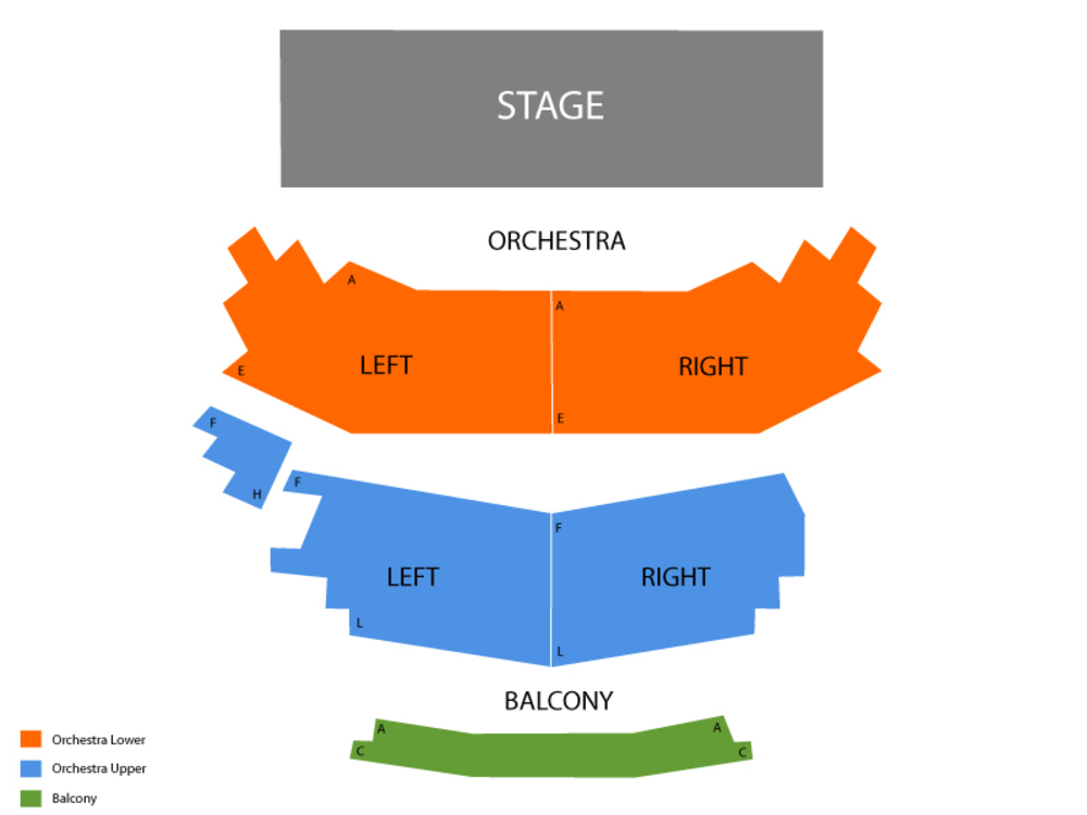 Firefall (Rescheduled from 6/7/20) Venue Map