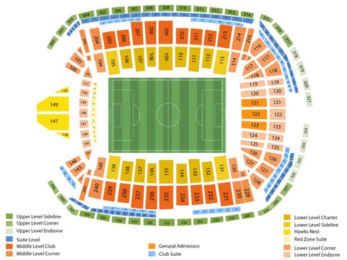 CenturyLink Field Seating Chart