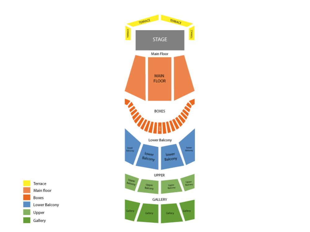 Chicago Symphony Orchestra: Alain Altinoglu - Prokofiev, Poulenc and Gounod Venue Map