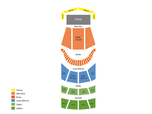 Symphony Center Seating Chart