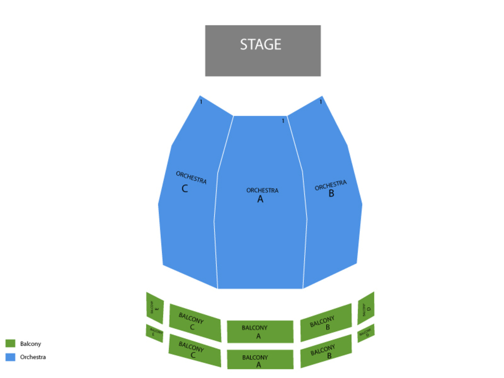 The Music Man Venue Map