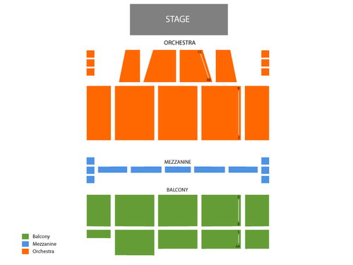 Orpheum Theatre - MA (Boston) Seating Chart